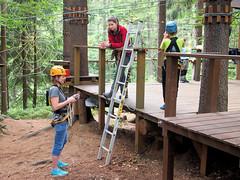 Practice. (topzdk) Tags: treeclimbing summer 2016 czechrepublic ski slope lanovy park