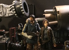 Rebel base (chevy2who) Tags: story cassian jyn inch six figure action toy wars star one rouge