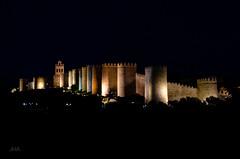 Murallas de color (Jos Hidalgo) Tags: muralla avila castilla espaa nocturna top30 nikonflickraward saariysqualitypictures