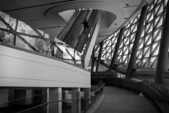 Lose Yourself (Bert CR) Tags: ottawa achitecture modern modernistic modernisticexcess conventioncenter design patterns bw blackandwhite blackwhite monochrome skancheli
