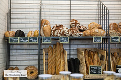 Beautiful loaves of fresh baked bread (thewanderingeater) Tags: gontrancherrier patisserie boulangerie bakery ruecaulaincourt montmartre