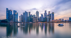 marina bay sands,singapore (jaywu429) Tags: sony singapore sonya7r sky skyline sonycamera singaporeriver sunset longexposure clouds buildings outdoor sony1635mmf4 beautiful beauty dusk twilight landscape cityscape