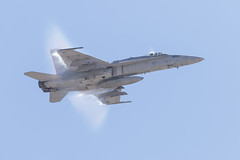 F-18 Hornet (Trent Bell) Tags: aircraft mcas miramar airshow california socal 2016 f18 military hornet vapor magtf demo