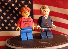 2016-271 - National Voter Registration Day (Steve Schar) Tags: 2016 wisconsin sunprairie nikon nikonaw120 project365 project366 lego minifigure doctorwho steve nationalvoterregistrationday