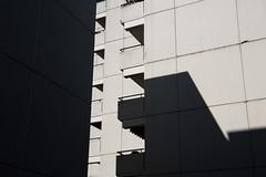 concrete dream (Rasande Tyskar) Tags: city nord hamburg germany schatten shadow cast beton concrete buildings architecture architektur stadt block fassade wall balkon balcony