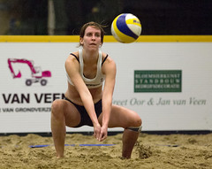 P1049163 (roel.ubels) Tags: beach indoor beachvolleyball volleyball aalsmeer volleybal nk beachvolleybal 2013