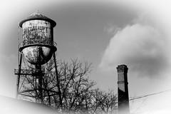 Side by Side (gabi-h) Tags: old ontario tower monochrome clouds vintage hastings gabih hastingscounty