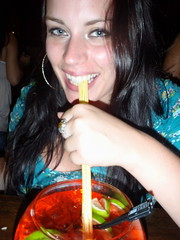 Fish Bowl Loving (The Travelin Chicks) Tags: trip travel party vacation southamerica girl smile bar drunk restaurant quito ecuador chica drink drinking culture chick adventure liquor fishbowl backpacking alcohol booze traveling brunette backpacker traveler kinsey traveladventure travelinchucks kinseyosborn travelinchicks