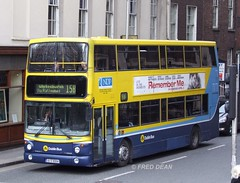 Dublin Bus AV4 (00D40004). (Fred Dean Jnr) Tags: dublin bus volvo alexander doubledecker dublinbus rend alx400 b7tl av4 busathacliath april2010 kildarestreetdublin dublinbusroute15b 00d40004 dublinbusyellowbluelivery