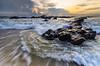 force of nature (Mk Azmi) Tags: sea nature colors sunrise nikon rocks waves dof seascapes sigma malaysia slowshutter kemasik terengganu sigma1020mm kemaman gnd8 d7000