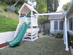 IMG_0840 (Swing Set Solutions) Tags: set play swings vinyl slide structure swing solutions playset polyvinyl