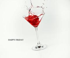 Day 19: Happy Friday!  [EXPLORE] (Dusty J) Tags: water 50mm nikon drink sb600 martini drop alcohol dustin vodka 365 jello splash nikkor d800 sb700 gaffke dustingaffke