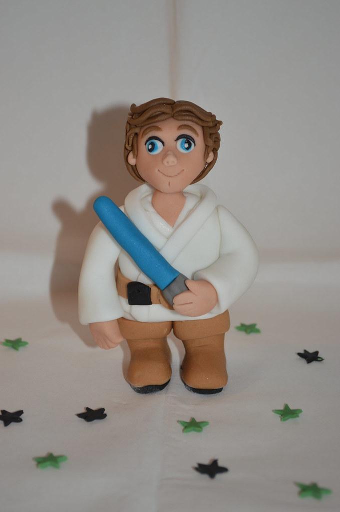 Luke Skywalker Cake Topper