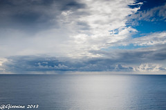 Sardegna is blue #Explore# Gràcies, Gracias, Thanks! (Montse.P) Tags: sardegna sea clouds mar nubes cerdeña núvols cerdenya