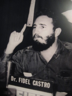 From http://www.flickr.com/photos/24683614@N08/8401680223/: Fidel Castro