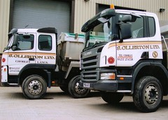 so14 (langson2) Tags: man tipper s lancashire trucks ltd scania ollerton haulage companys