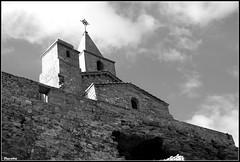 Eglise (Florette Photographie) Tags: mer church stone wall bell pierre sur mur fos eglise façade cloche croix priere culte fossurmer clochet