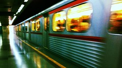 Son tren (Atakan Eser) Tags: tren metro platform tasit uploaded:by=flickrmobile flickriosapp:filter=toucan toucanfilter akmmetro