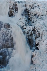 Icy Flow (Scottwdw) Tags: travel blue trees winter vacation sky snow newyork cold ice nature water nikon rocks unitedstates tripod freezing falls waterfalls freeze ithaca icicles d700 scottthomasphotography afsnikkor28300mmf3556gedvr