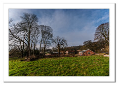 View of Home Farm (Visitor Centre) (Travels with a dog and a Camera :)) Tags: park uk england house southwest west art home digital photoshop bristol dc pentax unitedkingdom nt farm south centre january sigma andrew national trust 1020mm visitor nationaltrust bennett 43 lightroom visitorcentre k7 tyntesfield wraxall andrewbennett cs6 homefarm 2013 1456 justpentax sigma1020mm1456dc pentaxart pentaxk7 photoshopcs6 lightroom43