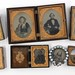 151A. Group of 19th Century Tin-Types and Miniatures