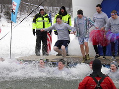 2013 Polar Plunge Rochester Minnesota 315 (rabidscottsman) Tags: charity winter lake snow cold ice water jump jumping icy splash leap polarplunge coldwater splashingwater rochesterminnesota inthewater scotthendersonphotography