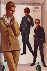 Wards 67 fw pantsuits (jsbuttons) Tags: fashion vintage clothing buttons clothes 1967 vintageclothing