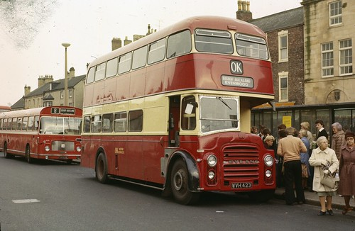 WVH 423 OK Motor Services, Bishop Auckland