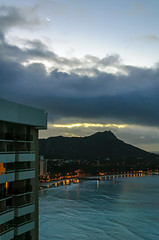 Oahu - View from the Sheraton (Christopher Lane Photography) Tags: morning vacation beach beautiful sunrise volcano hawaii hotel paradise waikiki oahu gorgeous diamondhead tropical lush sheraton dormant silpada bucketlist