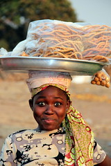 Young Market Trader of Techiman (Alan1954) Tags: africa portrait holiday eyes child market ghana vendor techiman