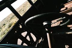 Petrified Forest, Arizona (Peter Gutierrez) Tags: park old arizona usa southwest west abandoned car america forest us photo apache desert south united rusty az 66 route southern national american western gutierrez americana states badlands navajo shrub steppe southwestern petrified arizonan semidesert petergutierrez