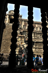 Third gallery through window (T   J  - Eid Mubarak) Tags: geotagged cambodia angkorwat nikkor siemreap indochina teeje d700 geo:lat=13412477917688767 geo:lon=10386740908465572