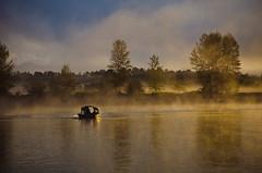 misty morning (ALFoTo.us) Tags: light mist fog vancouver sunrise morninglight fishing 2012alfoto