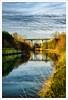 Un pont sur la Scarpe / A bridge over the Scarpe (Napafloma-Photographe) Tags: canal eau pont hdr scarpe randonnée saintlaurentblangy platinumheartaward