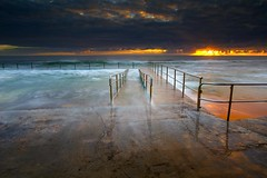 Collaroy (Noval N | Photography) Tags: morning seascape clouds sunrise waves sydney australia rockpool northernbeaches
