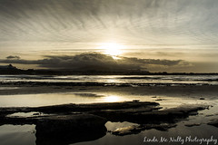 Bundoran Beach (linda_mcnulty) Tags: ocean ireland sunset sea seascape beach water strand canon landscape bay rocks shore thepeak donegal bundoran donegalbay