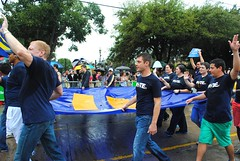 equality (Kelsey Brooke) Tags: gay church dallas pride tolerance 2012 samesex dallastx pride2012 str8against88