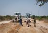 2013_01_24_Afgooye_Road_Grading g (AMISOM Public Information) Tags: somalia reconstruction mogadishu afgooye amisom