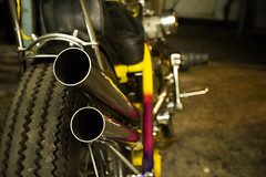 Pipes (williecb750) Tags: vancouver pipes harleydavidson motorcycle custom exhaust shovelhead