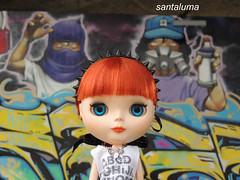 Aisha na Bienal de graffiti !!
