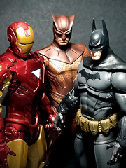 Richmen (Jova Cheung) Tags: toys actionfigure ironman superhero batman niteowl dcdirect marvelselect