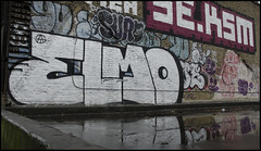 Elmo ATG (lewis wilson) Tags: urban graffiti elmo tags frog urbanart graff sure bomb bombing atg 10ft 10foot