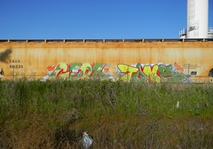 Camouflage (Sk8hamburger) Tags: railroad art train painting graffiti paint tag rr gore gero stc boxcar graff piece tagging tone freight paint spray dmak smashthecity