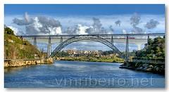 Ponte D. Maria Pia (vmribeiro.net) Tags: portugal geotagged d maria ponte porto pia tamron tamronaf18200mmf3563xrdiiildasphericalif geo:lat=4114193396947965 geo:lon=860055685043335