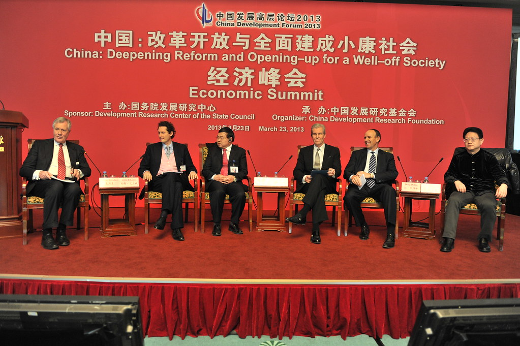 Fiat and EXOR Chairman John Elkann attending the 2013 China Development Forum