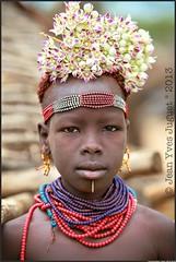 "Les ""Karo"" - Karo Tribe"" (Jean Yves JUGUET ) Tags: africa portrait people woman man canon children photography faces jean african tribal lips valley tribes afrika yves ethiopia  tribe ethnic minority addis karo mursi hamar tribo ham"