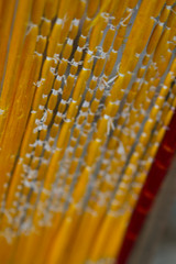 Yellow Silk (shayhaas) Tags: yellow asia cambodia silk siemreap artyfarty indochina