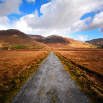 "Road near Inagh <a style=""margin-left:10px; font-size:0.8em;"" href=""http://www.flickr.com/photos/89335711@N00/8598740886/"" target=""_blank"">@flickr</a>"