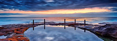 Ivo Rowe (Stanley Kozak) Tags: sun reflection beach water pool sunrise canon rocks waves australia nsw coogee rowe ivo rockpool carlzeiss zeiss18mm canon5dmkiii