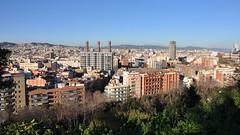 Barcelona, Catalunya (D-A-O 1 Million Views! Thank you!) Tags: barcelona flowers espaa gardens hotel spain nikon mediterranean view terrace bcn palace exhibition vista catalunya universal miramar montjuic 1929 d90